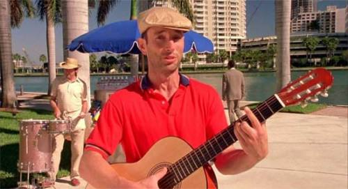 Jonathan Richman in There's Something About Mary