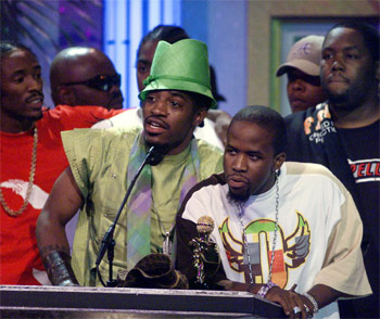 In 1995, Outkast was booed at the Source Awards. Because the Source Awards are bullshit.