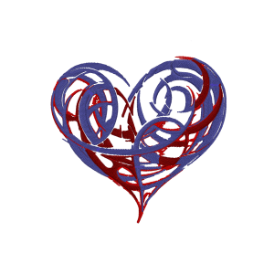 Jagged Heart Embroidery