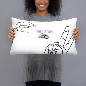 Ramsey Detailing Logo Pillow