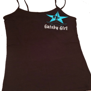 Gatsby Girl Embroidered Tank Top