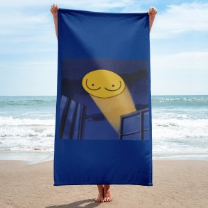Boob Signal Beach Towel