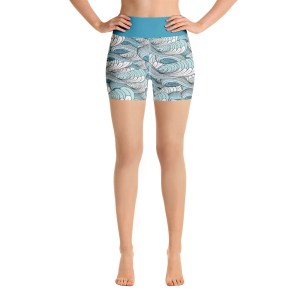 """Go with the Flow"" Yoga Shorts"