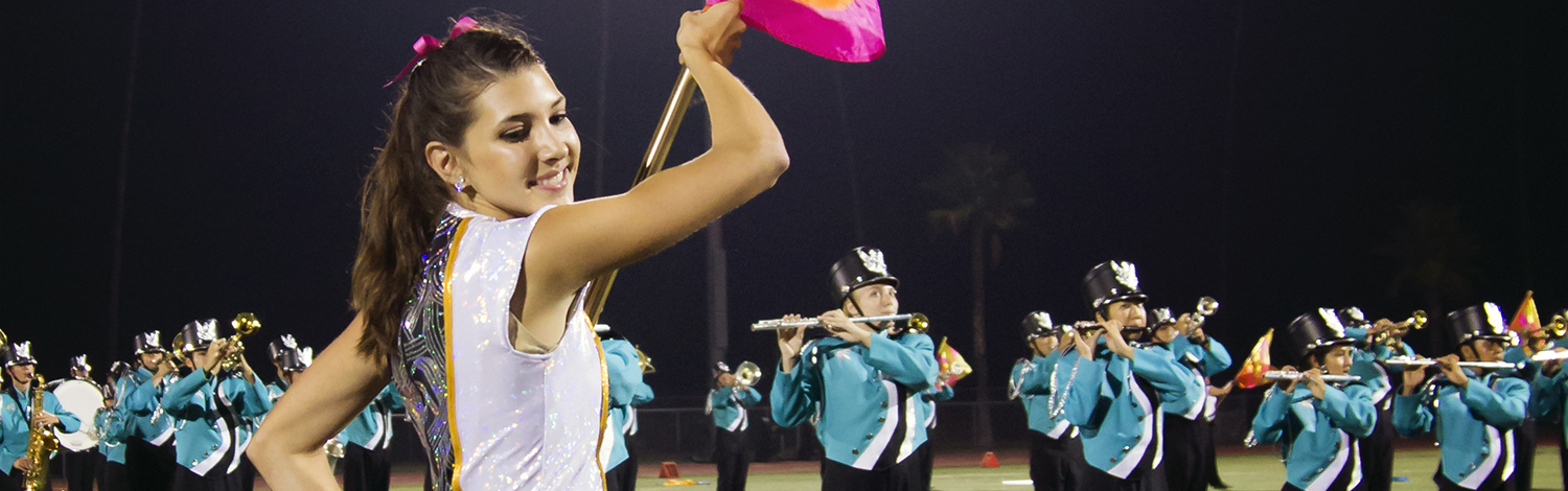 Color Guard Mary