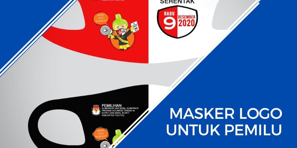 masker logo untuk pemilu