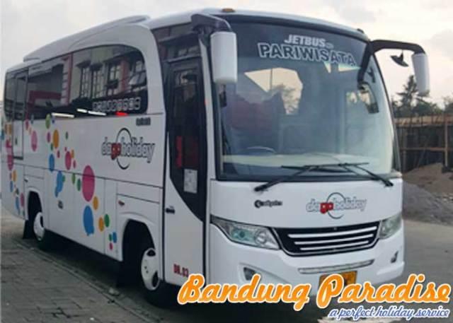 Sewa Bus Pariwisata Medium 31 Dan 33 Seat Bandung