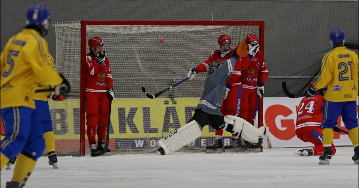 Sverige, Ryssland, bandy-VM, Simon Jansson.