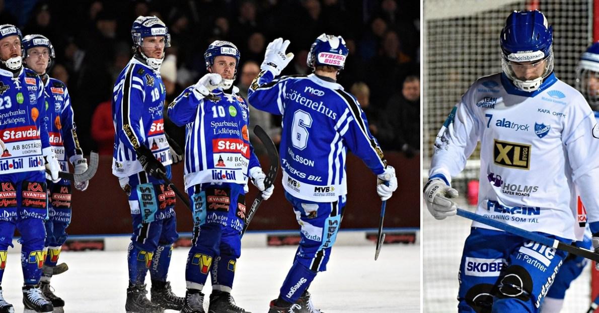 Petter Björling, Villa krossade Motala i första kvartsfinalen, Villa krossade Motala, kvartsfinalen