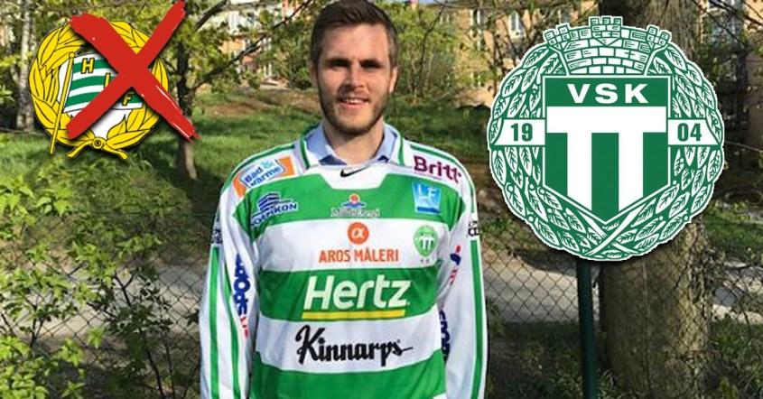 Jesper Jonsson, Jesper Jonsson lämnar Hammarby - klar för VSK, Västerås