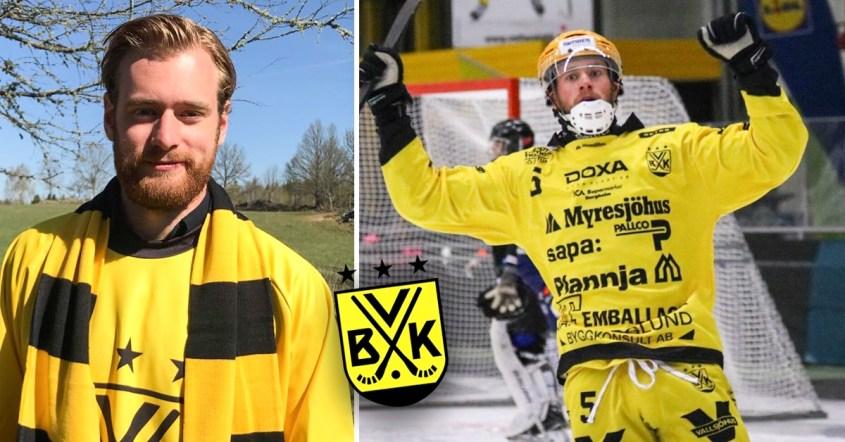 Pontus Blomberg, VBK, Vetlanda, mittfältaren Pontus Blomberg