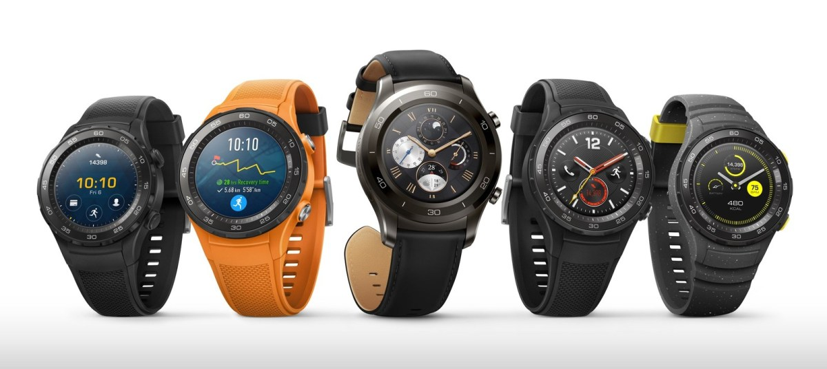 Huawei Watch 2 and Watch 2 Classic availability