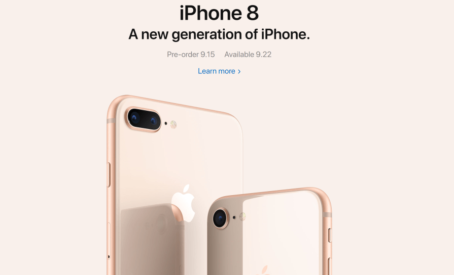 iPhone announcement