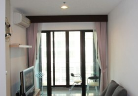Ideo Ratchada Huaykwang – Bangkok apartment for rent | steps to Huai Khwang MRT subway station