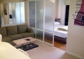 Lumpini Place Rama 9 – Bangkok apartment for rent | 10 mins walk to Phra Ram 9 MRT | unobstructed city view