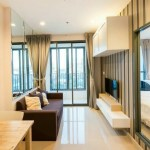 Ideo Mobi Rama 9 – Bangkok condo for rent | steps to Phra Ram 9 MRT | bright open view