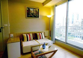 Life @ Sathorn Bangkok – apartment for rent in Sathorn-Silom | 400 m. to Chongnonsi BTS | gorgeous unobstructed city view