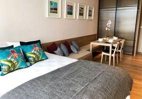 Park 24 – condo for rent in Sukhumvit, Bangkok | 10 mins walk to Phrom Phong BTS | short walk to restaurants, shops and park