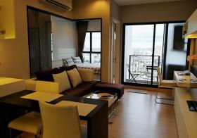 Urbano Absolute Sathorn-Taksin – Bangkok apartment for rent |  5 mins walk to Krung Thonburi BTS | beautiful river view | 10 mins to Sathorn-Silom