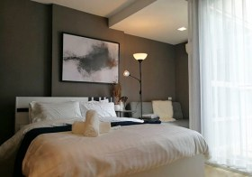 Condo D Ratchada – Bangkok condo for rent | 3 mins walk to Ratchadaphisek MRT | fully furnished with washer