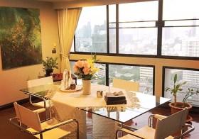 President Park Sukhumvit 24 – Bangkok apartment for rent   1.2 km. to Phrom Phong BTS   fully fuenished, large kitchen with oven