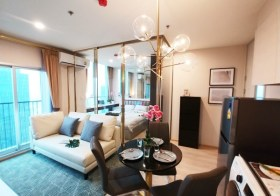 Noble Revolve Ratchada 2 – condo for rent near Rama 9 – Thailand Cultural Centre MRT | 400 m. to China Embassy