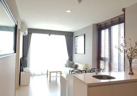 Rhythm Sukhumvit 42 – Bangkok condo for rent | 190 m. to Ekamai BTS | corner unit + nice river view