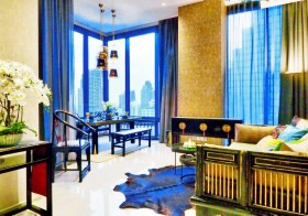 Ashton Silom – Bangkok condo for rent   350 m. to Chong Nonsi BTS  750 m. to Sala Daeng BTS  corner unit, great city view