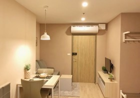 Ideo O2 – Bangkok condo for rent | 700 m. to Bangna BTS | fitted kitchen with stove/hood + washer | 20 mins to city center
