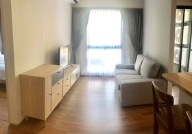 Unio Sukumvit 72 –  condo for rent | 600 m. to Bearing BTS | east facing | fitted kitchen + washer | near 7/11 convenience store
