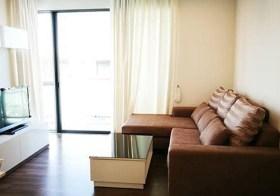 The Room Sukhumvit 62 – Bangkok condo | close to Punnawithi BTS | corner unit | kitchen with stove + washer/dryer