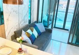 Ideo Blucove Sukhumvit – condo for rent | steps to Udomsuk BTS | gym, pool, garden | 20 mins to Central Bangkok