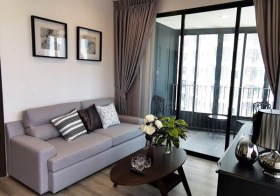 Ideo Mobi Asoke – Bangkok condo for rent | 5-7 mins walk to Phetchaburi MRT & airport link | corner unit, fully furnished