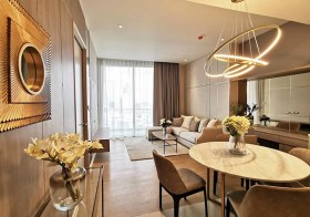 Magnolia Waterfront Residences condo   close to Iconsiam   shuttle boat to Saphan Taksin BTS/Sathorn pier   Chaophraya river view