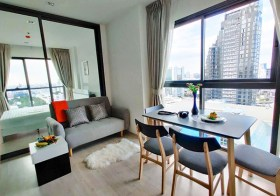Rhythm Rangnam condo | 170-750 m. to BTS Victory Monument & Phayathai airport link | corner unit + unobstructed view