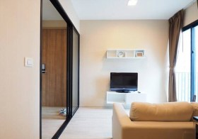 Condolette Midst Rama 9 condo | 250 m. to Rama 9 MRT | fully furnished | corner unit, south facing, city view