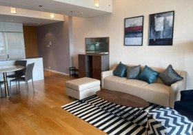 The Met Sathorn condo Bangkok | 8 mins walk to Chong Nonsi BTS | fully equipped kitchen with oven, dishwasher | washer/dryer
