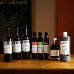 Lirah range of different bottles of vinegar and oils