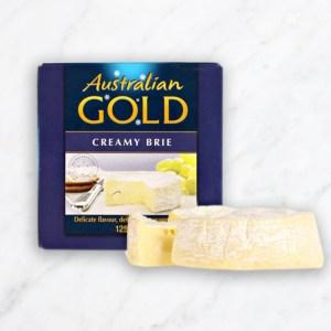 Australian Gold - Creamy Brie Cheese - 1 Pack (115g)