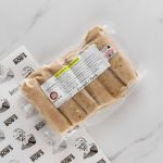 Pack of Breakfats sausages made with pork and leek