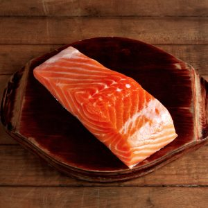 Salmon Trourt Steak from Australia Portion Skin