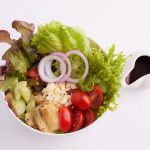 Greek Salad for delivery or eating at the restaurant