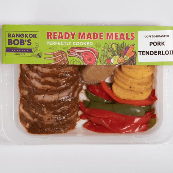 Pork Tenderloin Packaging Ready Meal