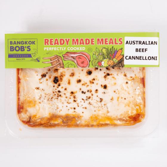 Australian Beef Cannelonni Ready Meal