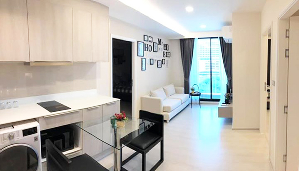 VTARA 36 (วีธารา สุขุมวิท 36) คอนโดให้เช่า – Sukhumvit condo for rent | shuttle service to Thong Lo BTS (Thonglor) – ทองหล่อ | open view | fitted kitchen + bathtub + washer