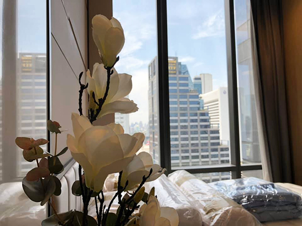 Ashton Silom (แอชตัน สีลม) คอนโดให้เช่า Bangkok condo for rent | 350-750 m. to Chong Nonsi – Sala Daeng BTS (ช่องนนทรี-ศาลาแดง) | east facing + open view | fully furnished with washer