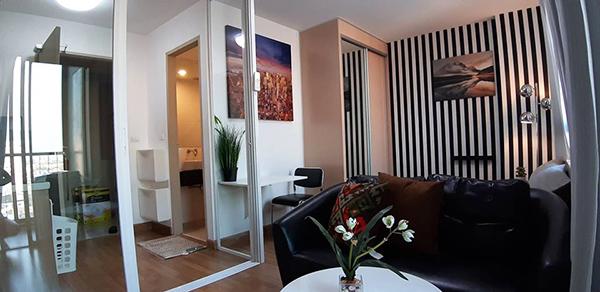 Ideo Mix Sukhumvit 103 (ไอดีโอ มิกซ์ สุขุมวิท 103) คอนโดให้เช่า – Bangkok condo for rent | steps to Udom Suk BTS (อุดมสุข) | 7 mins walk to True Digital park | 20 mins to city center