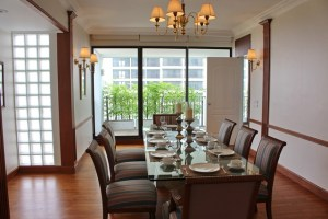 apartment for rent in Bangna - dining room