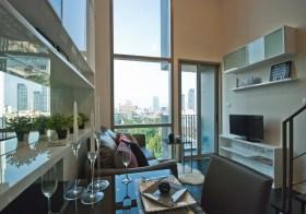Ideo Morph 38 Bangkok –  duplex condo for rent @ Thonglor BTS, 30K