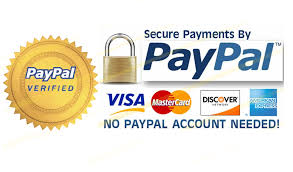 All Sensitive information will be stored on Paypal.com