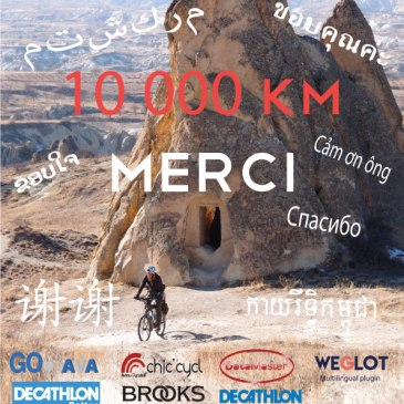 10 000 km : MERCI !